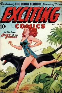 Cover Thumbnail for Exciting Comics (Pines, 1940 series) #61
