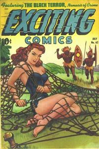 Cover Thumbnail for Exciting Comics (Pines, 1940 series) #62
