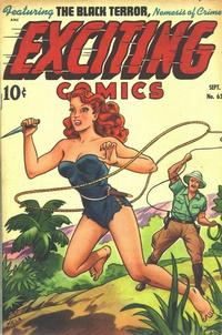 Cover Thumbnail for Exciting Comics (Pines, 1940 series) #63