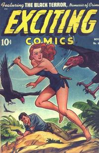 Cover Thumbnail for Exciting Comics (Pines, 1940 series) #64