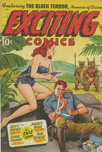 Cover Thumbnail for Exciting Comics (Pines, 1940 series) #65