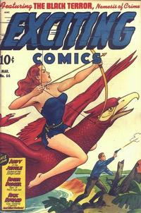 Cover Thumbnail for Exciting Comics (Pines, 1940 series) #66