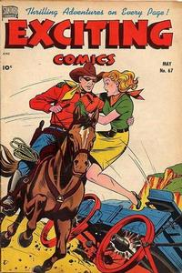 Cover Thumbnail for Exciting Comics (Pines, 1940 series) #67
