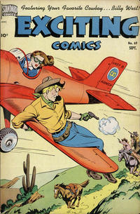 Cover Thumbnail for Exciting Comics (Pines, 1940 series) #69