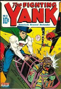 Cover Thumbnail for The Fighting Yank (Pines, 1942 series) #6
