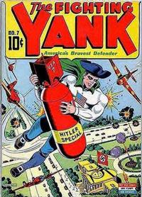 Cover Thumbnail for The Fighting Yank (Pines, 1942 series) #7