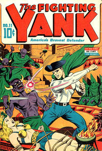 Cover Thumbnail for The Fighting Yank (Pines, 1942 series) #11