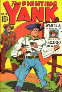 Cover Thumbnail for The Fighting Yank (Pines, 1942 series) #19