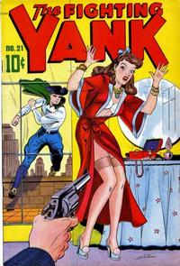 Cover Thumbnail for The Fighting Yank (Pines, 1942 series) #21