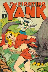 Cover Thumbnail for The Fighting Yank (Pines, 1942 series) #22