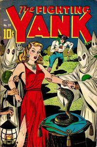Cover Thumbnail for The Fighting Yank (Pines, 1942 series) #23