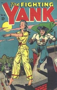 Cover Thumbnail for The Fighting Yank (Pines, 1942 series) #25