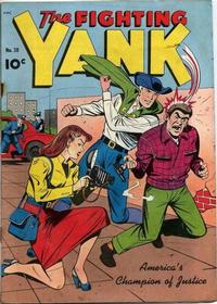 Cover Thumbnail for The Fighting Yank (Pines, 1942 series) #28