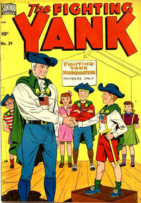Cover Thumbnail for The Fighting Yank (Pines, 1942 series) #29