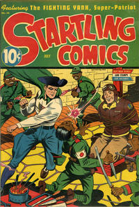 Cover Thumbnail for Startling Comics (Pines, 1940 series) #34