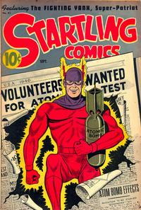 Cover Thumbnail for Startling Comics (Pines, 1940 series) #41