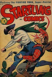 Cover Thumbnail for Startling Comics (Pines, 1940 series) #42
