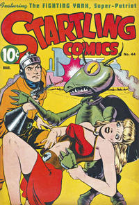 Cover Thumbnail for Startling Comics (Pines, 1940 series) #44