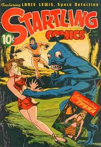 Cover Thumbnail for Startling Comics (Pines, 1940 series) #45