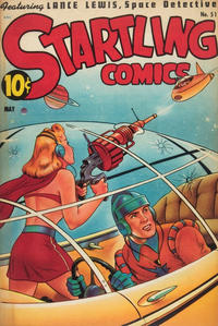 Cover Thumbnail for Startling Comics (Pines, 1940 series) #51