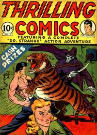 Cover Thumbnail for Thrilling Comics (Pines, 1940 series) #v1#1 (1)