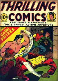 Cover Thumbnail for Thrilling Comics (Pines, 1940 series) #v1#2 (2)