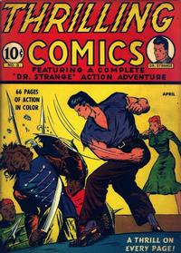 Cover Thumbnail for Thrilling Comics (Pines, 1940 series) #v1#3 (3)