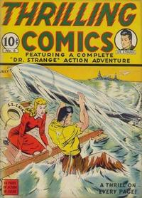 Cover Thumbnail for Thrilling Comics (Pines, 1940 series) #v2#3 (6)