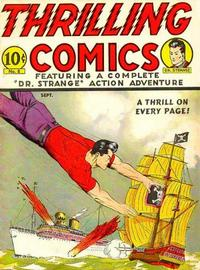 Cover Thumbnail for Thrilling Comics (Pines, 1940 series) #v3#2 (8)