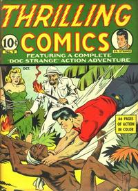 Cover for Thrilling Comics (Pines, 1940 series) #v3#3 (9)