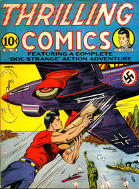 Cover Thumbnail for Thrilling Comics (Pines, 1940 series) #v4#1 (10)
