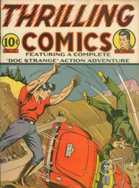 Cover Thumbnail for Thrilling Comics (Pines, 1940 series) #v4#3 (12)