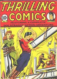 Cover Thumbnail for Thrilling Comics (Pines, 1940 series) #v5#1 (13)