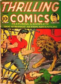 Cover Thumbnail for Thrilling Comics (Pines, 1940 series) #v5#2 (14)