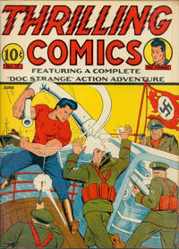 Cover Thumbnail for Thrilling Comics (Pines, 1940 series) #17