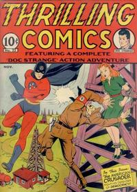 Cover Thumbnail for Thrilling Comics (Pines, 1940 series) #v8#1 (22)