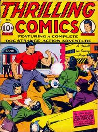 Cover Thumbnail for Thrilling Comics (Pines, 1940 series) #v9#1 (25)