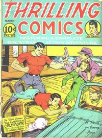 Cover Thumbnail for Thrilling Comics (Pines, 1940 series) #v9#2 (26)