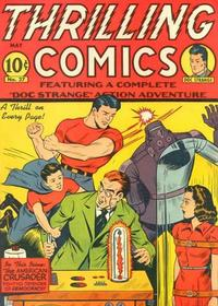 Cover Thumbnail for Thrilling Comics (Pines, 1940 series) #v9#3 (27)