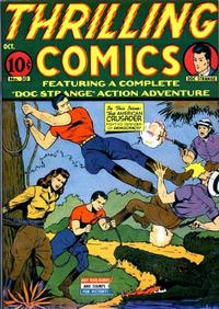 Cover Thumbnail for Thrilling Comics (Pines, 1940 series) #v10#3 (30)