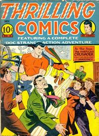 Cover Thumbnail for Thrilling Comics (Pines, 1940 series) #31