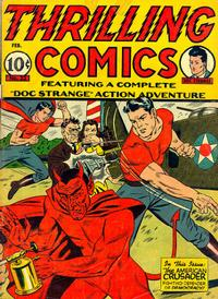 Cover Thumbnail for Thrilling Comics (Pines, 1940 series) #v11#3 (33)