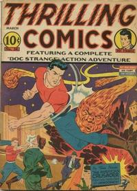 Cover Thumbnail for Thrilling Comics (Pines, 1940 series) #v12#1 (34)