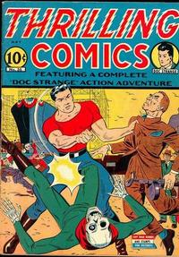Cover Thumbnail for Thrilling Comics (Pines, 1940 series) #35