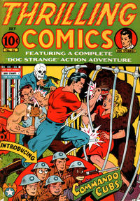 Cover Thumbnail for Thrilling Comics (Pines, 1940 series) #36