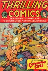 Cover Thumbnail for Thrilling Comics (Pines, 1940 series) #37