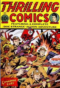 Cover Thumbnail for Thrilling Comics (Pines, 1940 series) #39