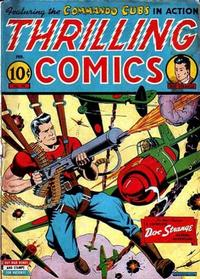 Cover Thumbnail for Thrilling Comics (Pines, 1940 series) #40