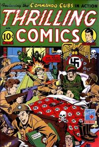 Cover Thumbnail for Thrilling Comics (Pines, 1940 series) #41