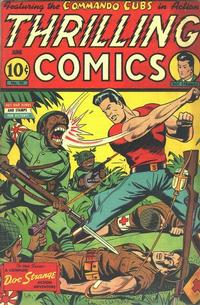 Cover Thumbnail for Thrilling Comics (Pines, 1940 series) #42
